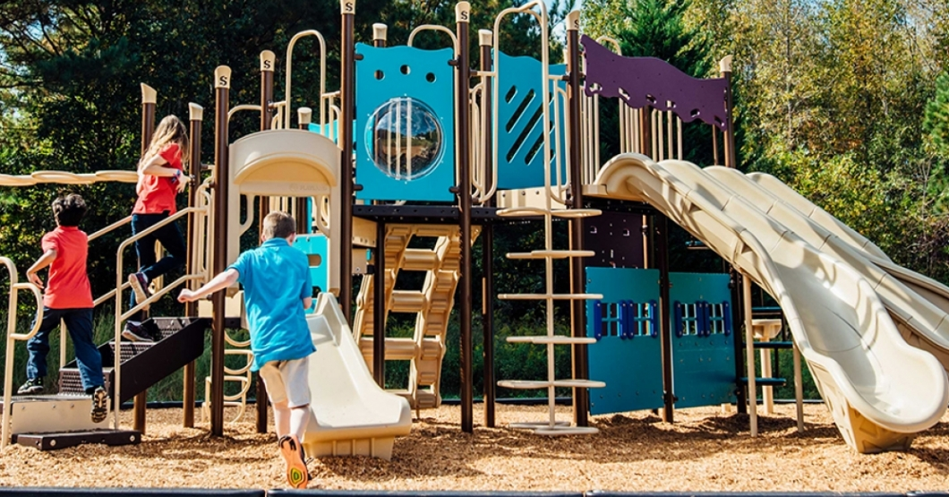school playground at shoal creek adventist school