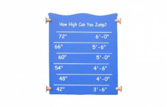 Jump Touch activity playground panel