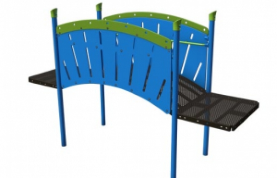 arch bridge commercial playground equipment