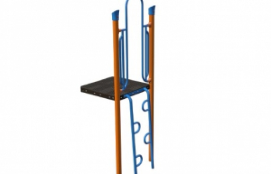 zipper climber for playgrounds