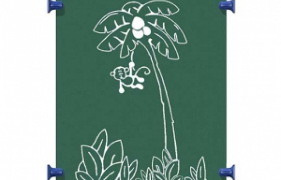 monkey tree panel for commercial playground equipment